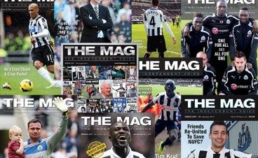The Mag Covers 2013 Newcastle United Magazine
